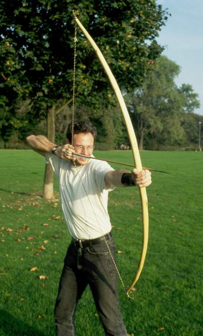 In archery, targets are mental and physical stability